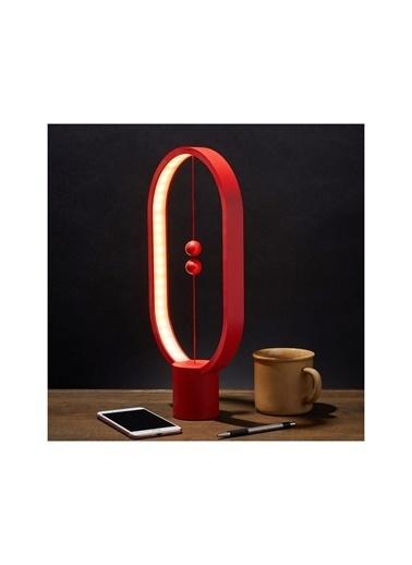 Bludfire Allocacoc Tasarım Ödüllü Mıknatıslı Oval Denge Lamba Kırmızı (Heng Balance Lamb) Kırmızı
